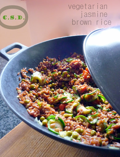 brown rice vegetariano