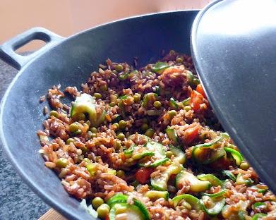 brown rice vegetariano