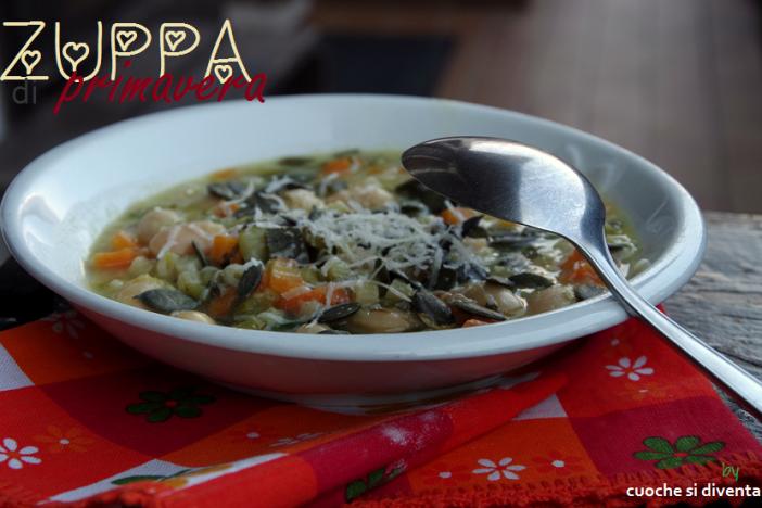 zuppa light di verdure