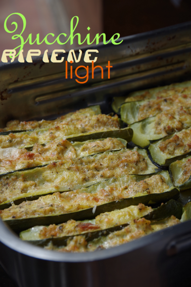 zucchine ripiene light vegetariane