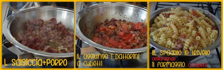 step pasta al pomodoro e salsiccia