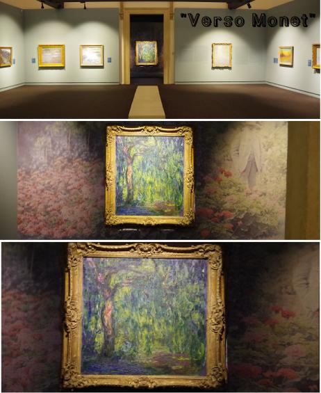 mostra verso monet percorso d'arte