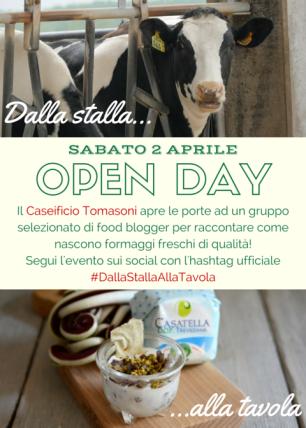 locandina Open Day Tomasoni
