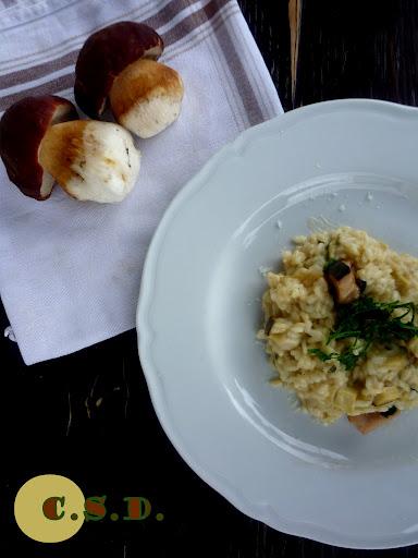 Mushroom Risotto - italian recipe