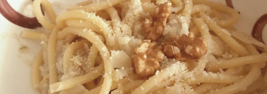 pasta con finocchi e noci