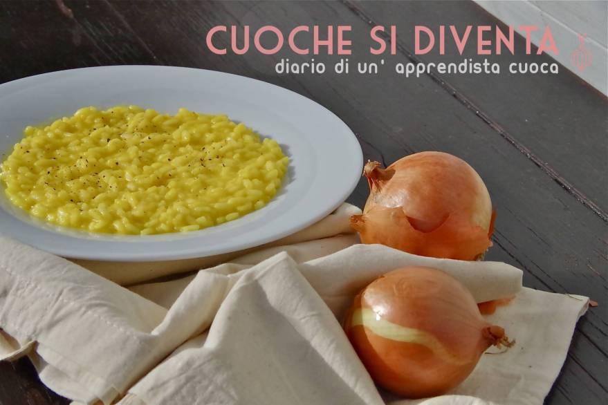 ricetta risotto alla milanese