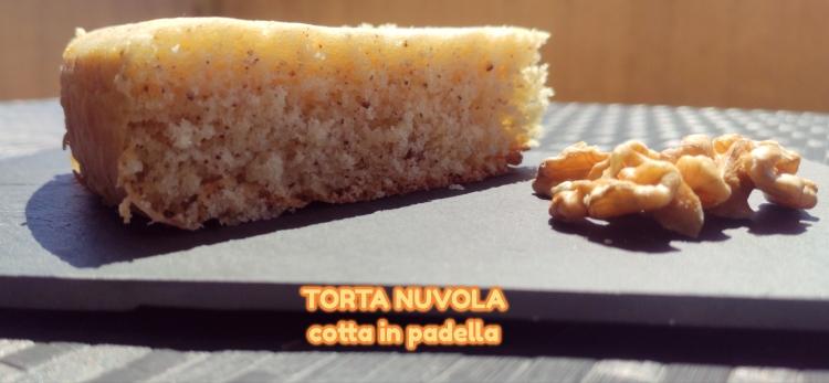 torta nuvola in padella